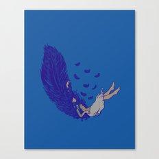 Falling dreams  Canvas Print