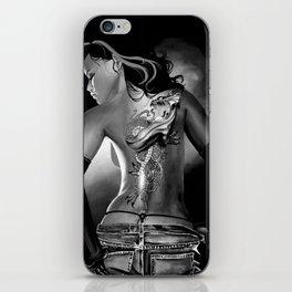 Tattoo Black and White iPhone Skin