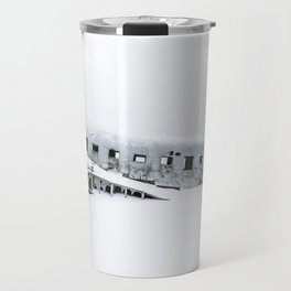 Plane Wreck in Iceland in Winter - Landscape Photography Minimalism Travel Mug