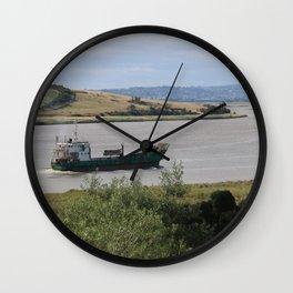 Ship into Launceston Docks* Wall Clock
