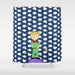 Le petit prince Shower Curtain