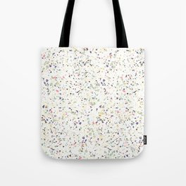 Classy vintage marble terrazzo pastel abstract design Tote Bag