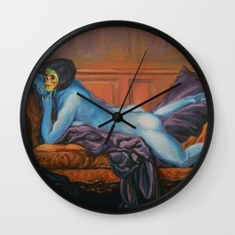 Waiting To Surprise Bae Wall Clock