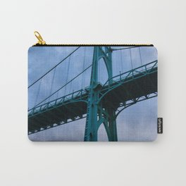 St. Johns Bridge, Gothic Tower Carry-All Pouch