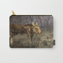 The Calm of a Moose Carry-All Pouch
