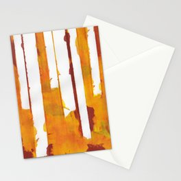 Stripes and Patches Stationery Cards