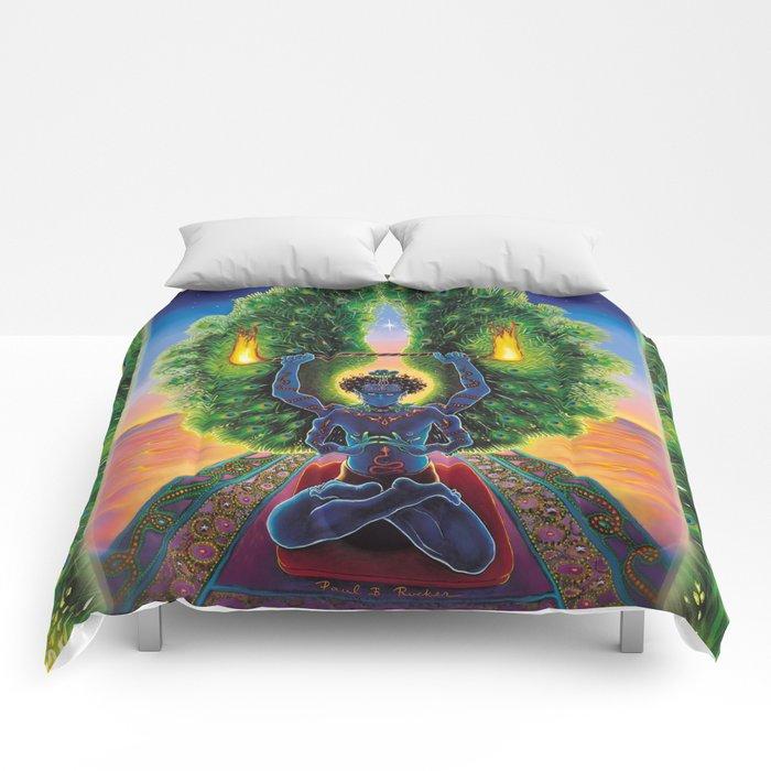 Melek Ta'us (The Peacock Angel) Comforters