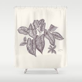 BALLEPN TRAVEL IN LAOS 1 Shower Curtain