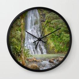 Karekare Falls Wall Clock