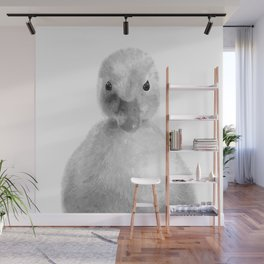 Black and White Duckling Wall Mural