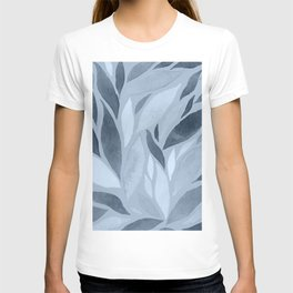 Abstract Watercolour Leaf XV T-shirt