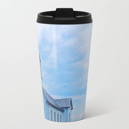Church and Sea Travel Mug