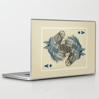 american Laptop & iPad Skins featuring American Pharoah (Ace) by Rachel Caldwell