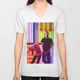 Differing Perspectives Unisex V-Neck