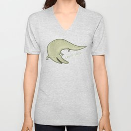 Croco-Smile Unisex V-Neck