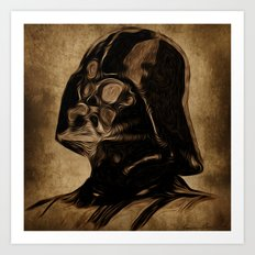 VINCENT DARTH VADER Art Print
