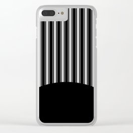 Pinstripe Riot Clear iPhone Case