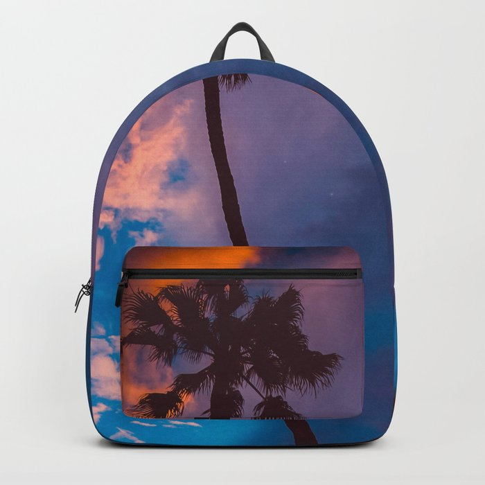 Sunset in California Backpack