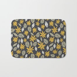 Safari floral pattern Bath Mat