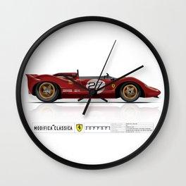 Ferrari 1967 330 P4 / 350 Can-Am Wall Clock