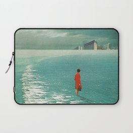 Waiting For The Cities To Fade Out Laptop Sleeve