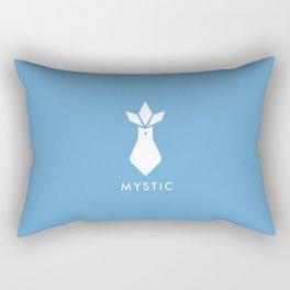 Pokémon Go Team Mystic Blue Articuno Emblem (2) 2016 Rectangular Pillow