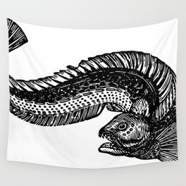 Wolf Fish 1852 Wall Tapestry