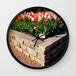 Muscogee (Creek) Nation - Honor Heights Park Azalea Festival, No. 12 of 12 Wall Clock
