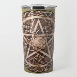 Brigid's Pentacle Travel Mug