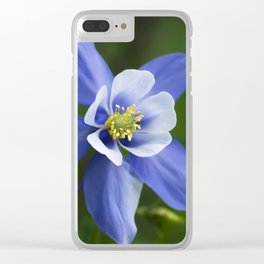 Woodland Columbine Clear iPhone Case