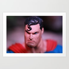 Someone Pissed In Superman's Wheaties Art Print