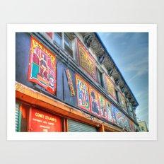Coney Island USA Building Art Print