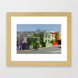 Bo-Kaap Framed Art Print