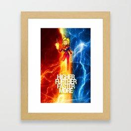 Happy-Go-Lucky Captain Framed Art Print