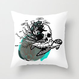 Sea Rules Throw Pillow