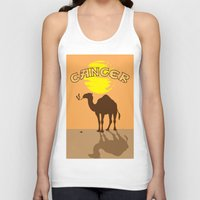 cancer Tank Tops featuring Cancer by Tony Vazquez