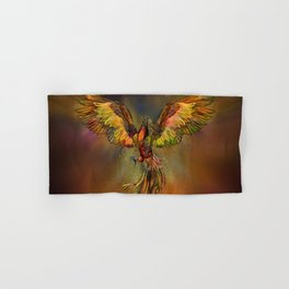 Phoenix Rising Hand & Bath Towel