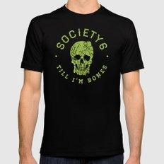 Society6 Till I'm Bones MEDIUM Black Mens Fitted Tee