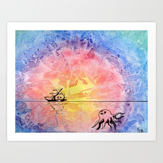 Ocean Voyage Art Print
