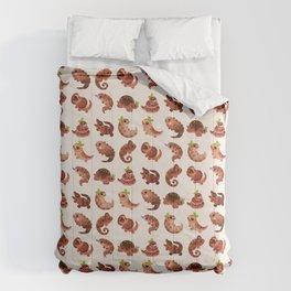 Chocolate Reptiles Comforters