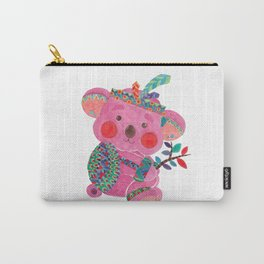 The Pink Koala Carry-All Pouch