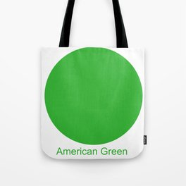 American Green Tote Bag