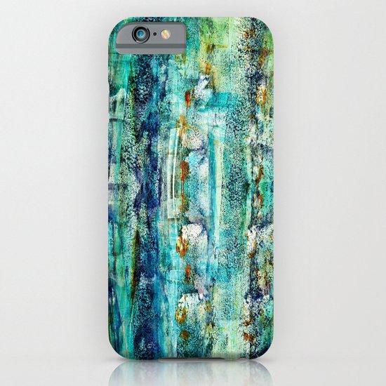 floating / blue iPhone & iPod Case