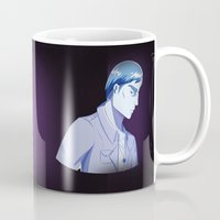 dad Mugs featuring Red Dad Blue Dad by Saintly