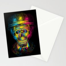 Worked to Death Stationery Cards