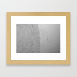 Bumpy Wall Framed Art Print