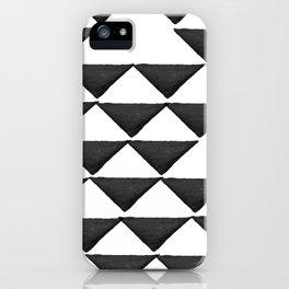 Nordic interior triangles iPhone Case