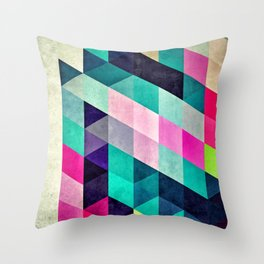 Cyrvynne xyx Throw Pillow