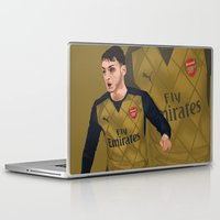 arsenal Laptop & iPad Skins featuring Mesut Özil by siddick49