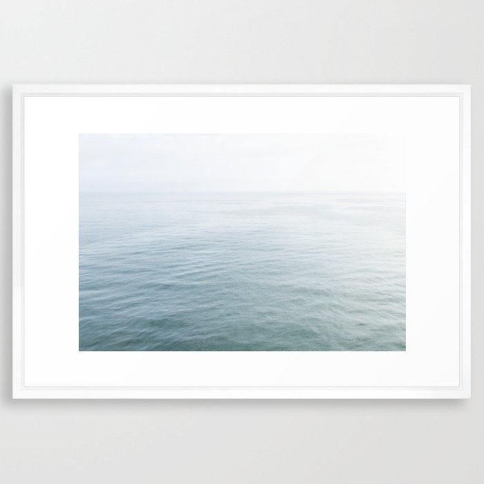 Malibu Framed Art Print